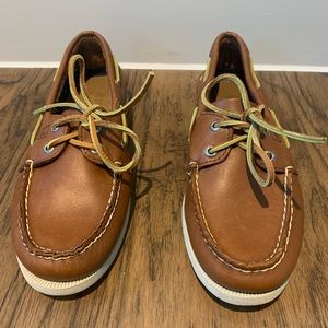Sperry Topsiders men's size 5.5, brown